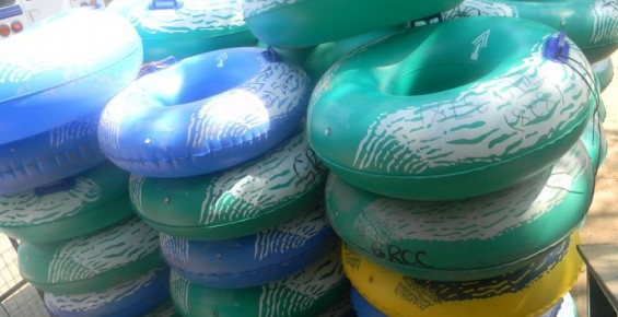 Tubing on Green River