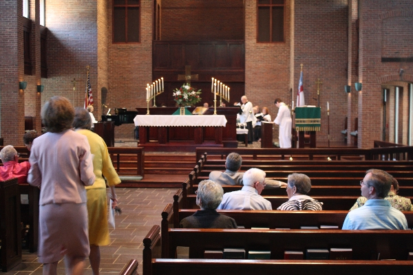 Community Worship at St. Christopher's