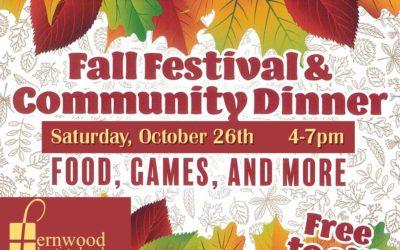 Fall Festival & Community Dinner