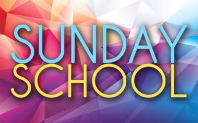 Adult Sunday School Bible Study
